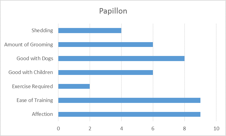 At a Glance Papillon Information Graph